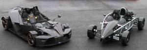 Ariel Atom 2 vs KTM X-BOW