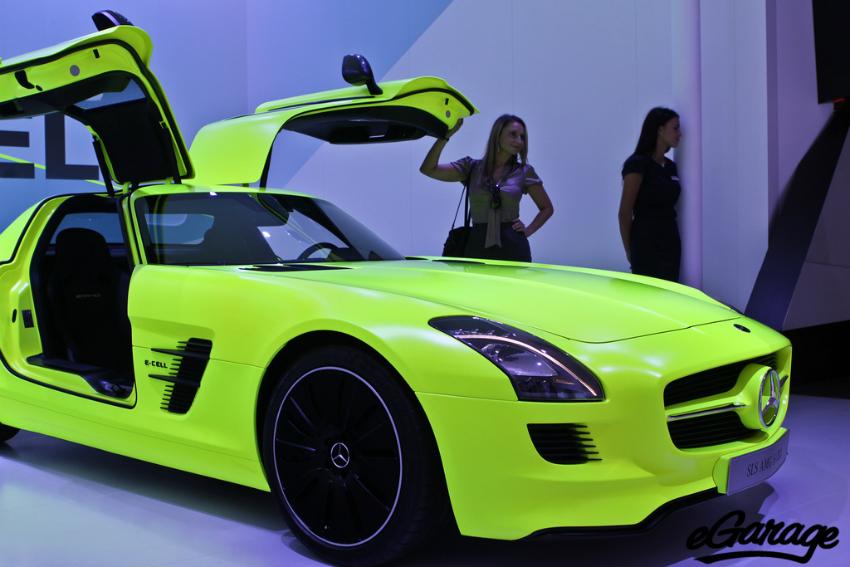 Mercedes Benz SLS AMG E-Cell