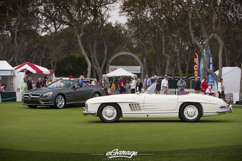 Mercedes 190SL Amelia Island Concours