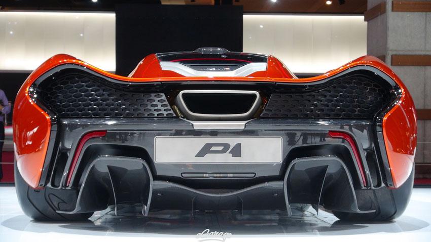 Mclaren P1 Paris Motor Show