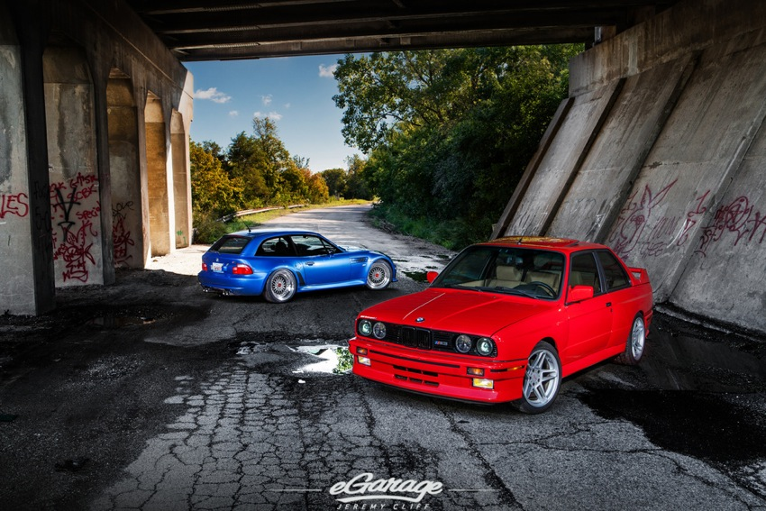 BMW E30 M Coupe egarage