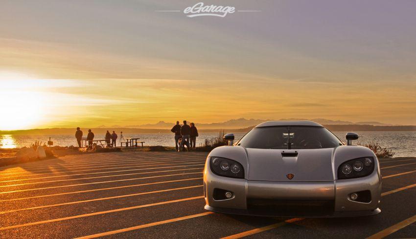 The Sun Sets On A Supercar Koenigsegg Ccx
