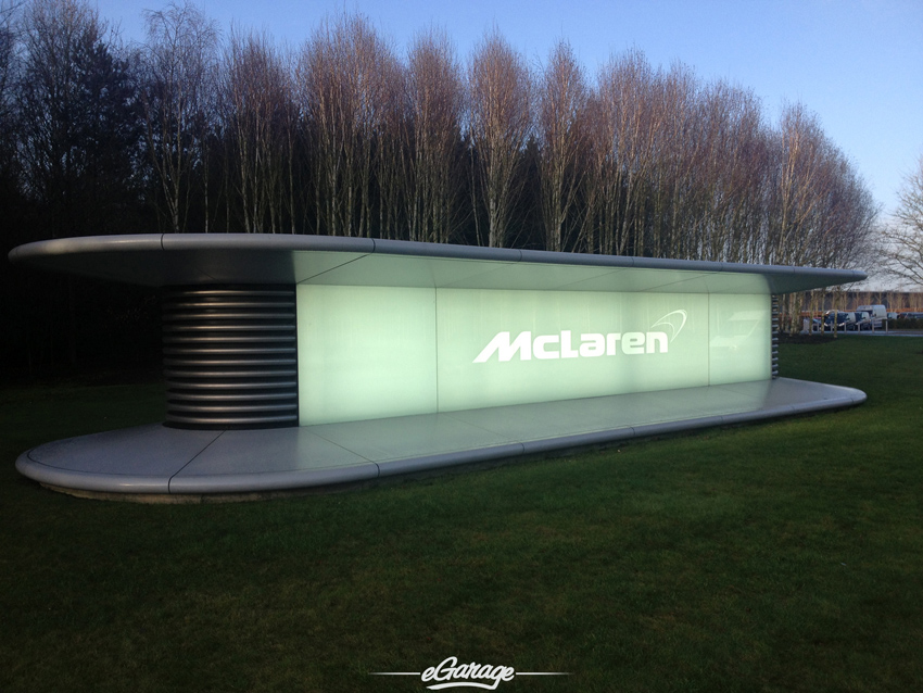 McLaren Woking Entrance