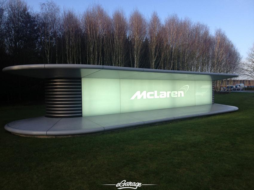 McLaren Woking Entrance