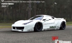 LB Performance Ferrari 458 LB-Works