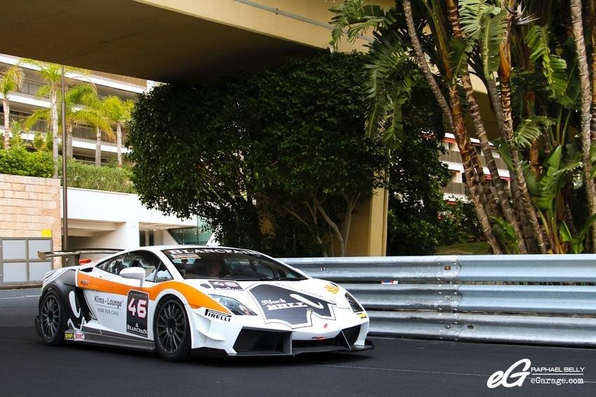 Lamborghini SuperTrofeo Top Marques Monaco 2014