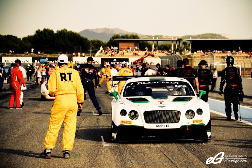Paul Ricard Blancpain Bentley GT3R