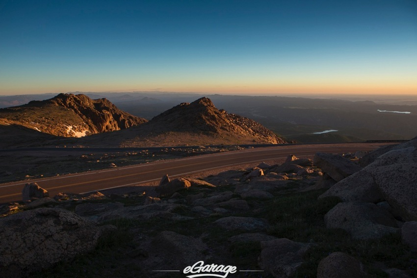 Pikes Peak 2014 sunset