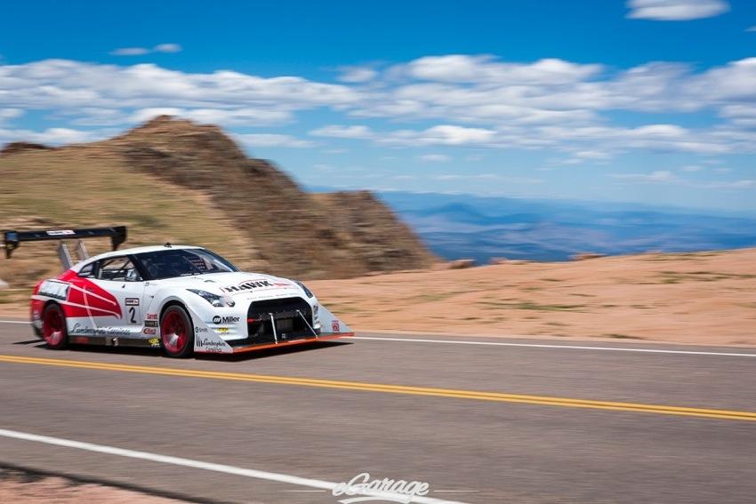 Pikes Peak 2014 Nissan GTR