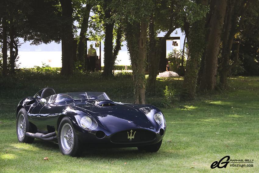 Maserati 450S villa d'Este