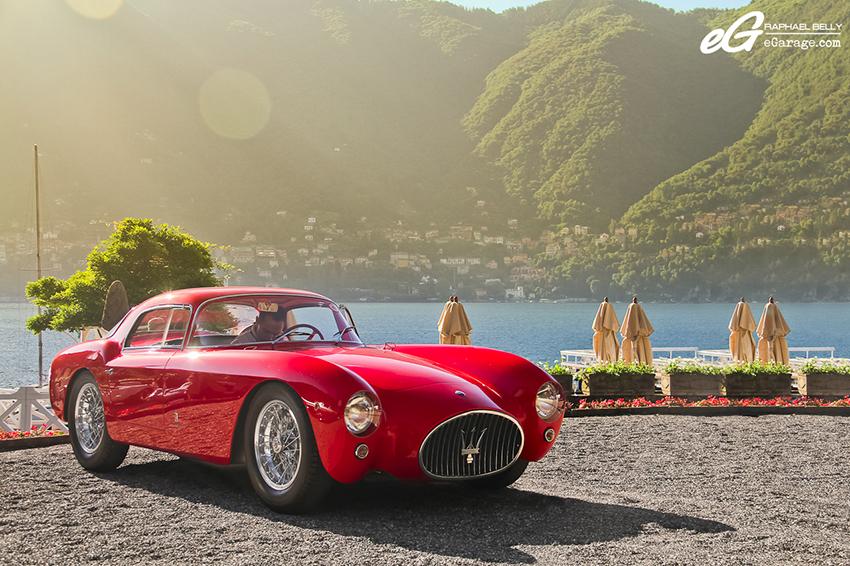 Maserati A6G CS Berlinetta Pininfarina villa d'Este