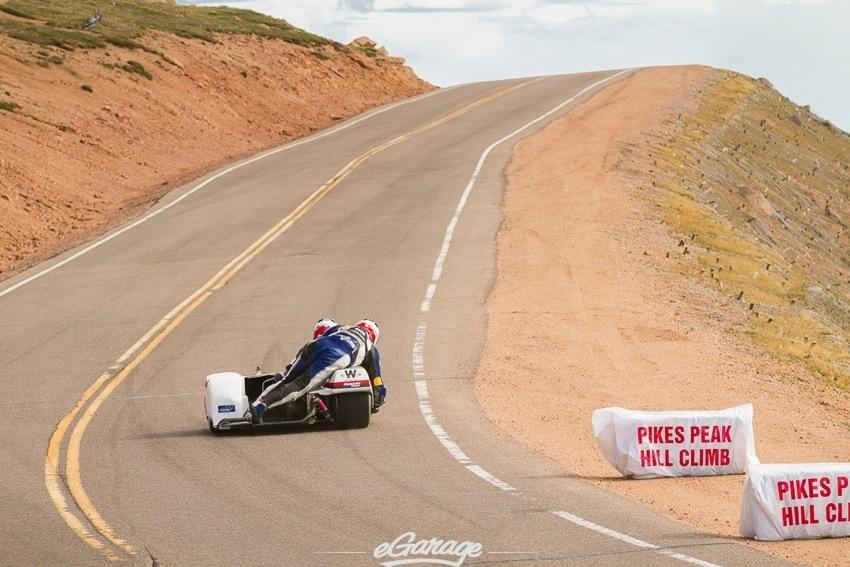 Pikes Peak 2014 sidecar