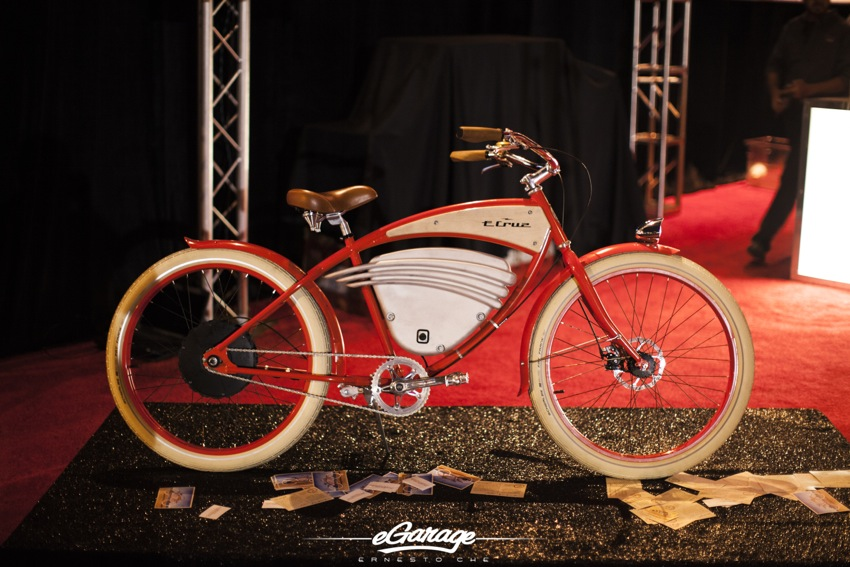 McCall Vintage Electric Bike 2014 McCall Motorworks Revival