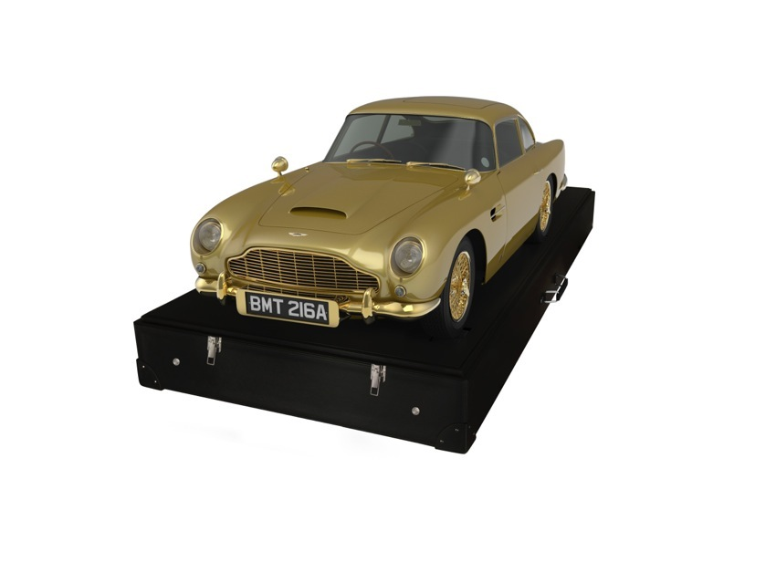 Font View Aston Martin DB5 Gold For Charity
