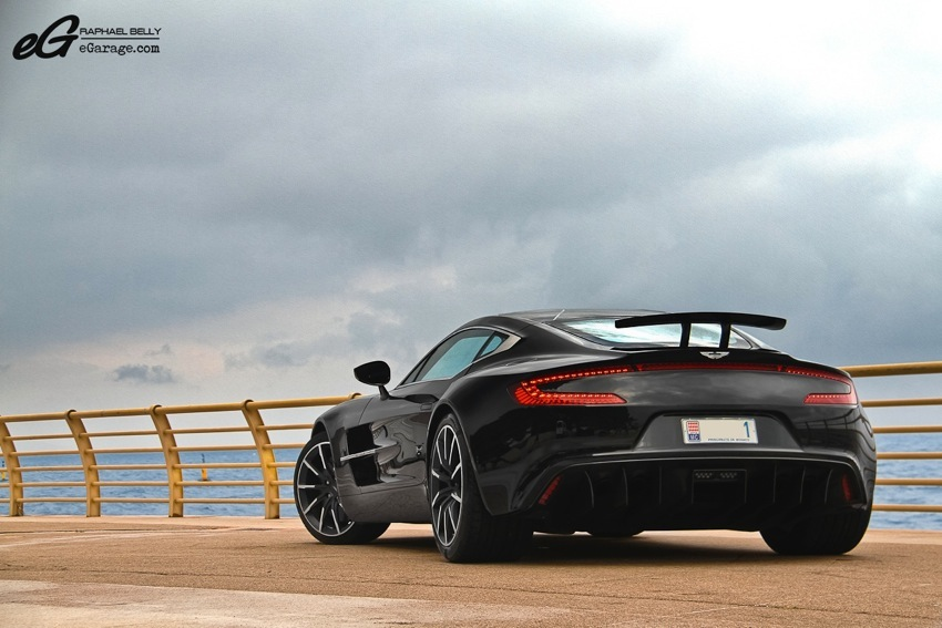 Rear Aston Martin One-77