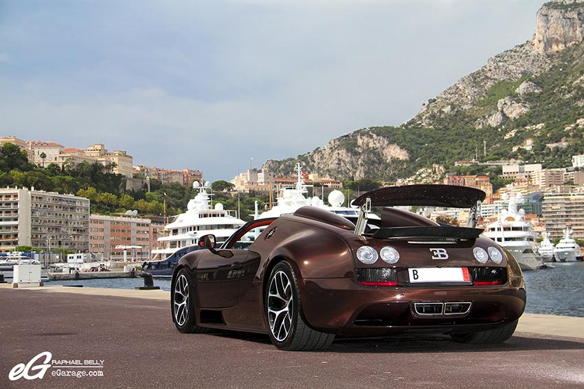 Bugatti Veyron Vitesse Monaco Rear