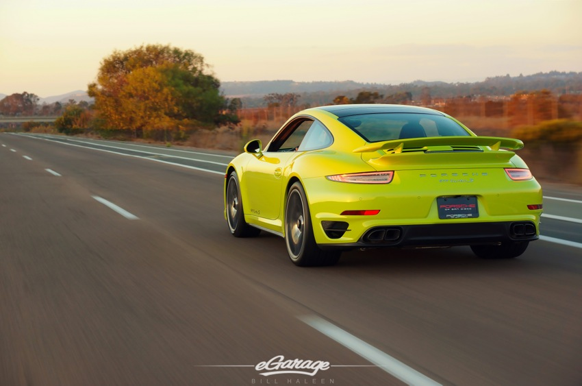 Porsche 911 Turbo S Rear