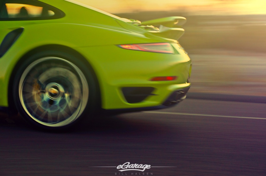 Porsche Turbo S Moving