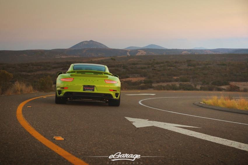 Porsche turbo S rear