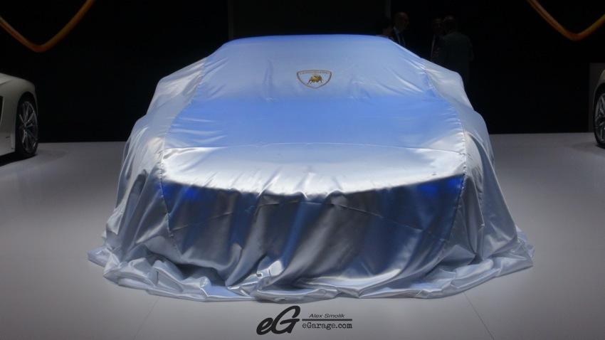 Paris Motor Show 2014 Lamborghini Asterion