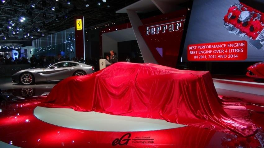 Ferrari Paris Motor Show 2014