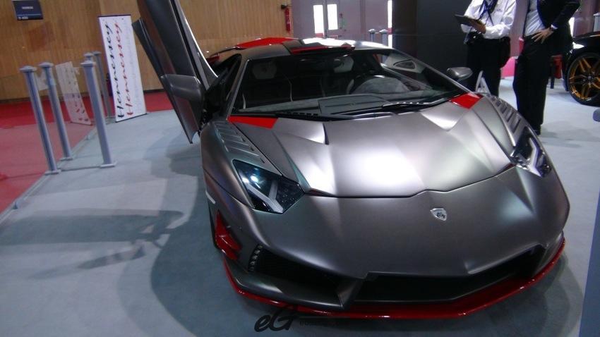 Lamborghini Paris Motor Show 2014