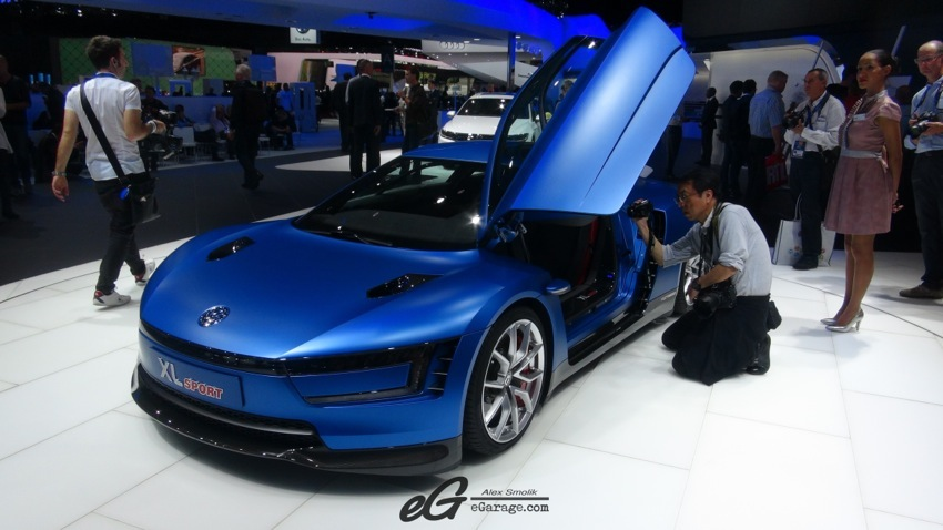 VW XL1 Paris Motor Show 2014
