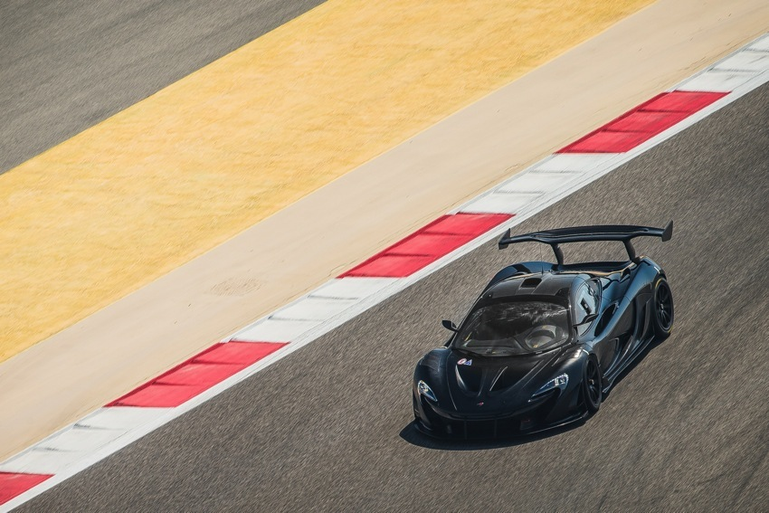 McLaren P1 GTR Test