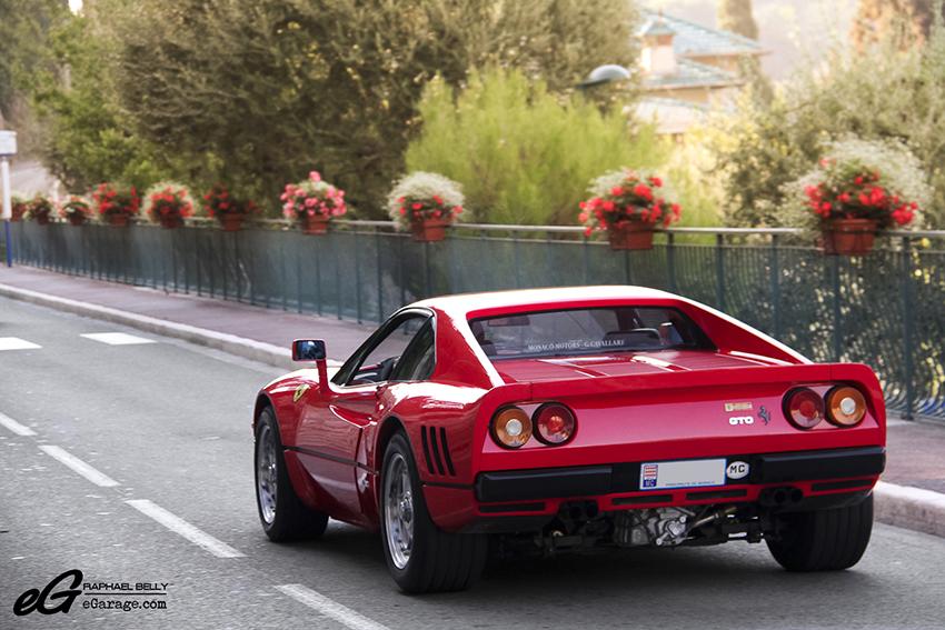 Saint Jean Cap Ferrat Ferrari 288 GTO