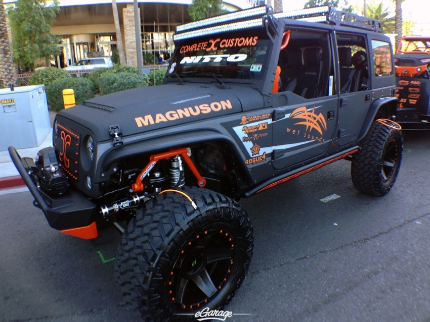 SEMA Show 2014 Jeep