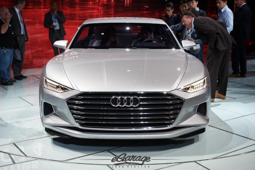 Audi prototype LA Auto Show 2014