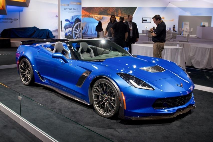 Chevrolet Corvette Convertible LA Auto Show 2014