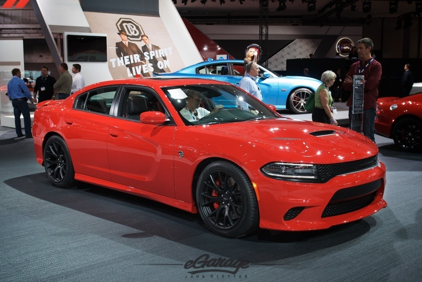Charger HellCat LA Auto Show 2014
