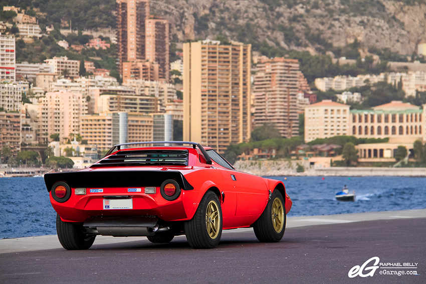 Lancia Stratos rear Monaco