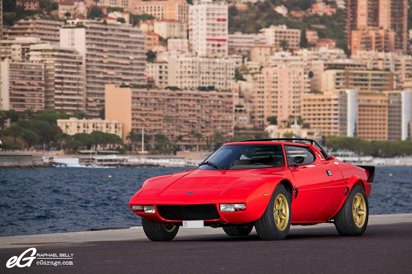 Lancia Stratos front Monaco