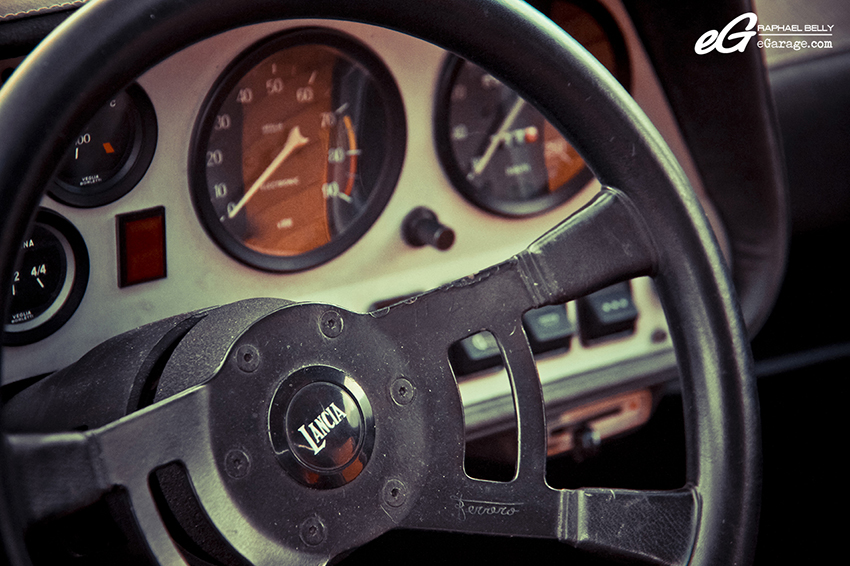 Lancia Stratos steering wheel