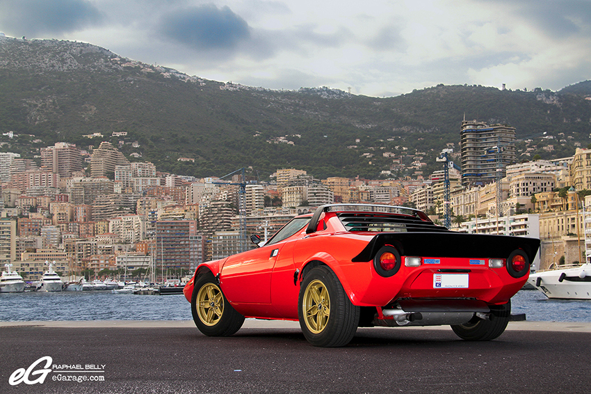 Lancia Stratos Monaco port