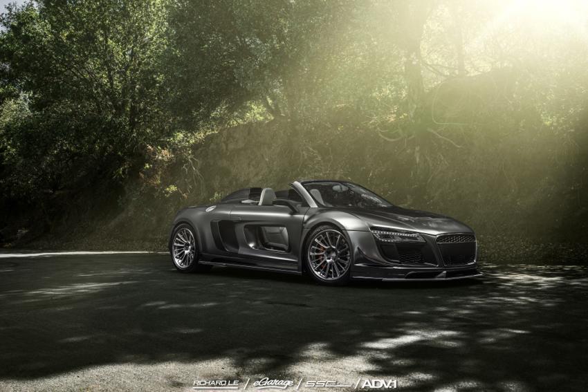Audi R8 V10 ppi Razor eGarage