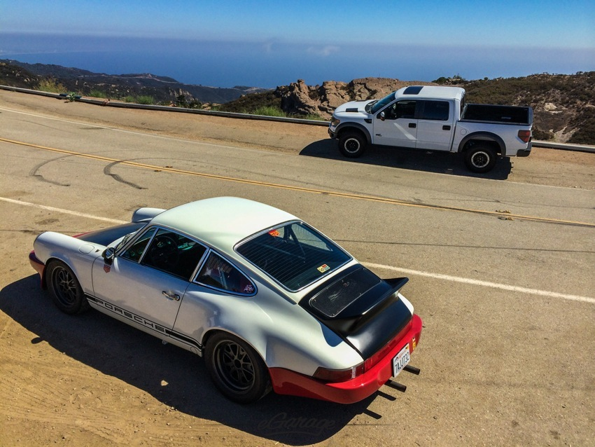 Magnus Walker Porsche Ford Raptor