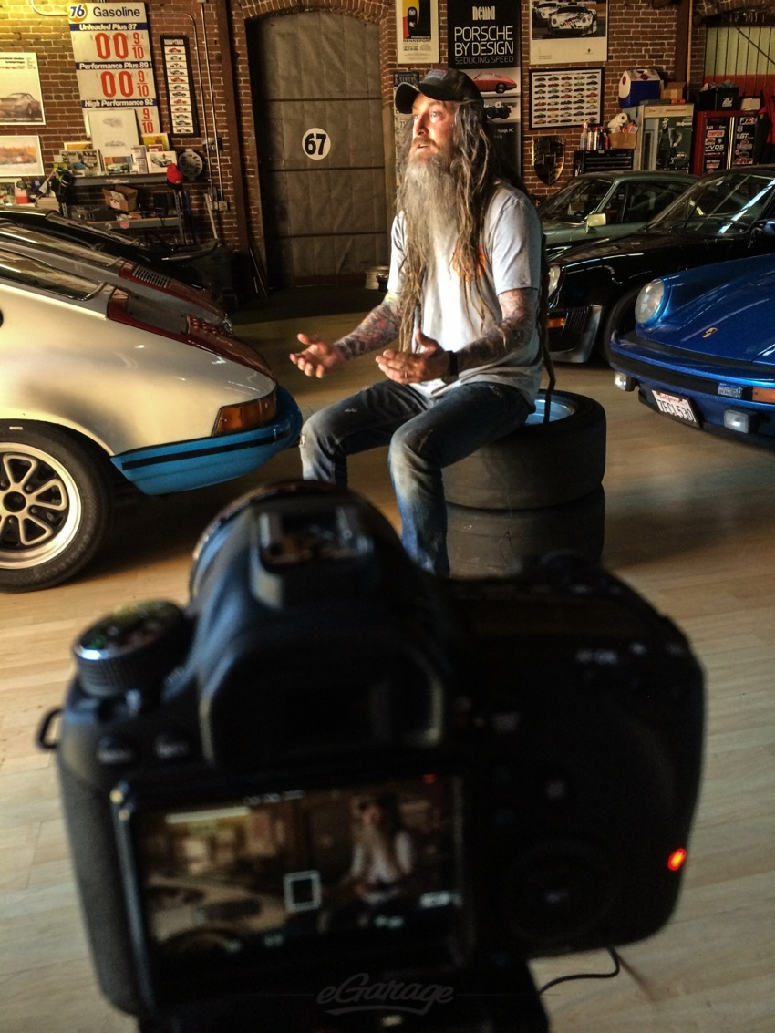 Magnus Walker eGarage