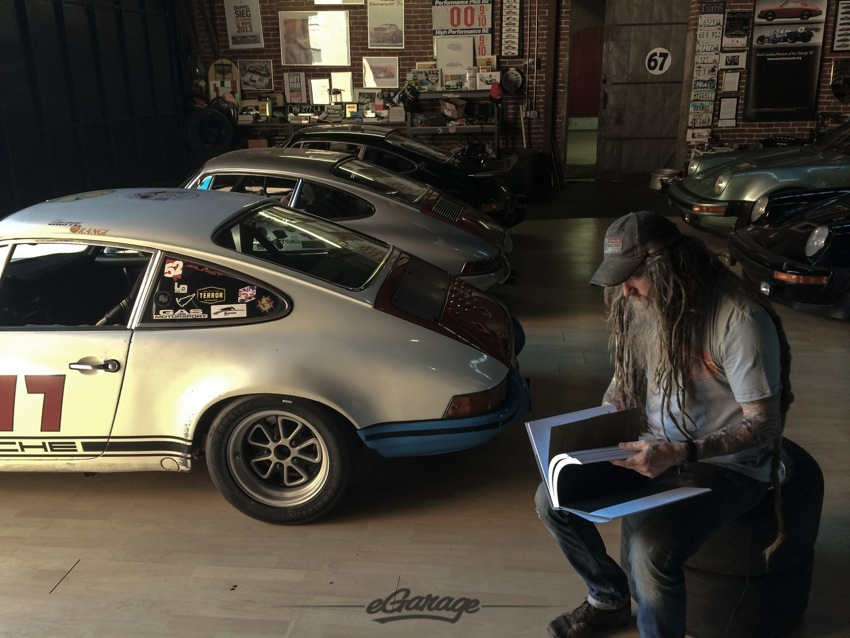 Magnus Walker Porsche eGarage
