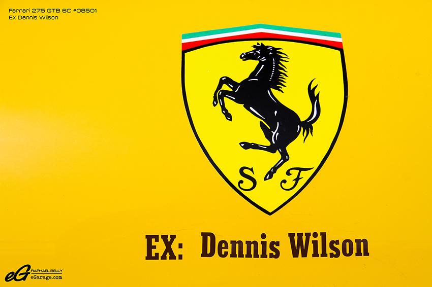 Ferrari 275 GTB 6C Monaco Dennis Wilson