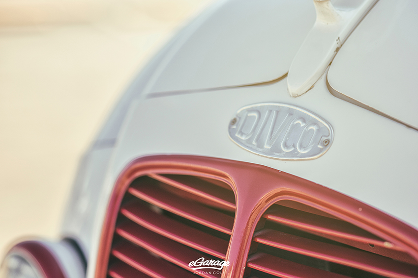 Divco hood badge