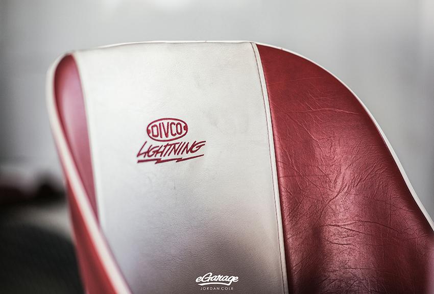 Divco custom seat