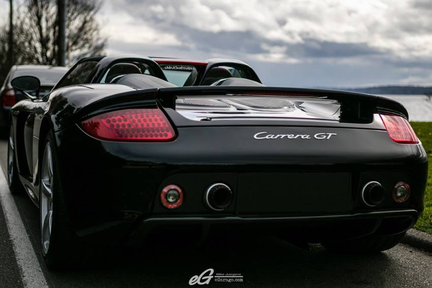 Porsche Carrera GT rear