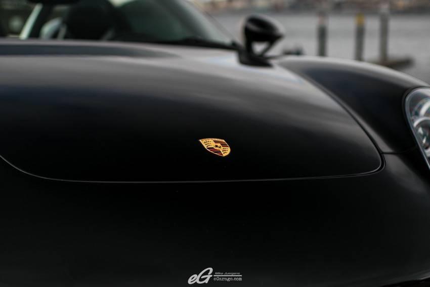 Porsche Carrera GT emblem