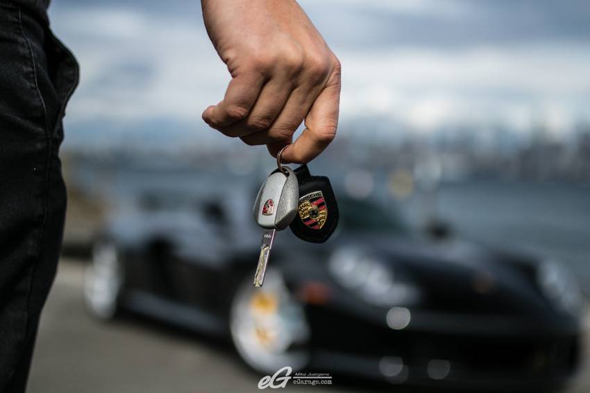 Carrera GT key