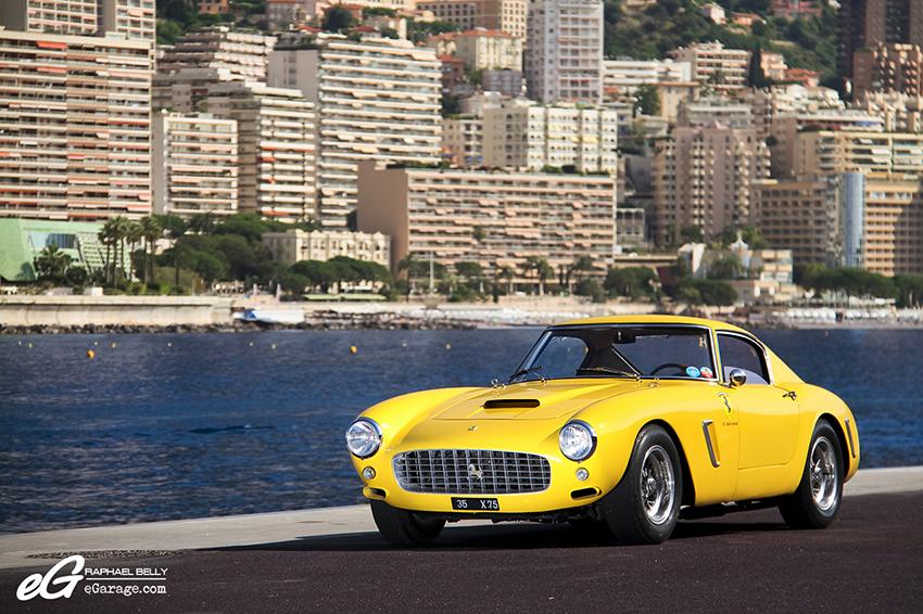 Ferrari 250 GT SWB Berlinetta Competizione Front Monaco