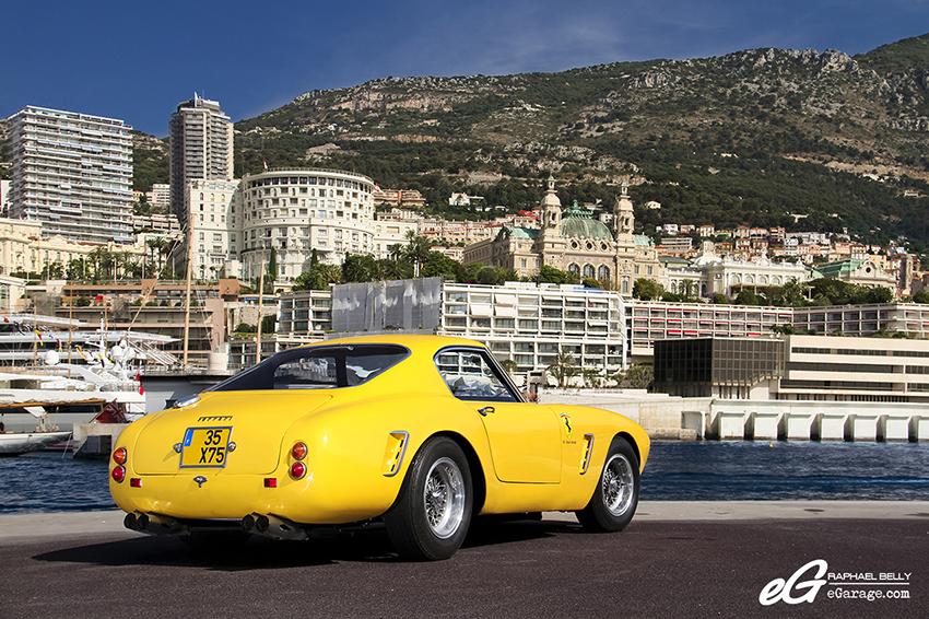 Ferrari 250 GT SWB Berlinetta Competizione Rear Monaco