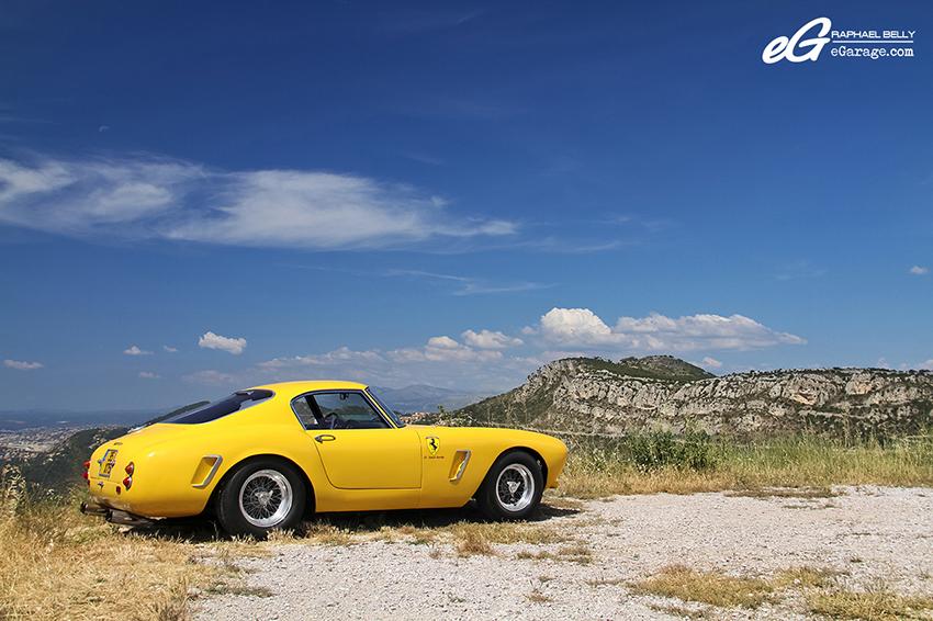Ferrari 250 GT SWB Berlinetta Competizione Side Cliff